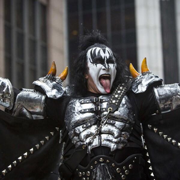 Este año, el evento contó con la presencia de la banda de rock: Kiss.