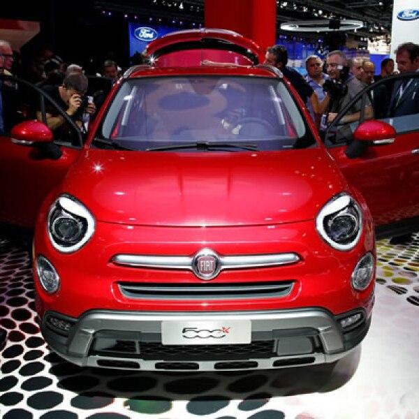 La italiana presentó su nuevo auto compacto 500X.