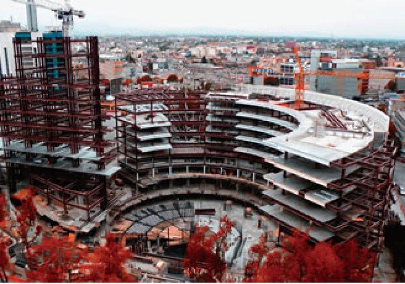 La constructora ganó en el 2007 la licitación para construir el edificio del Senado de la República. El proyecto terminará en el 2012. (Foto: Especial)