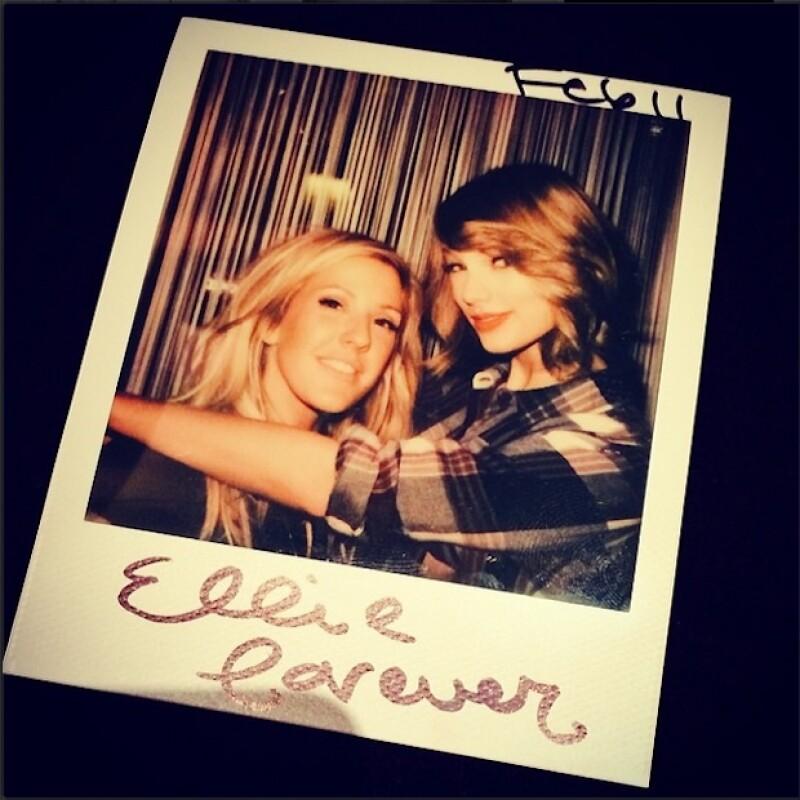 Una foto instantánea con Ellie Goulding.