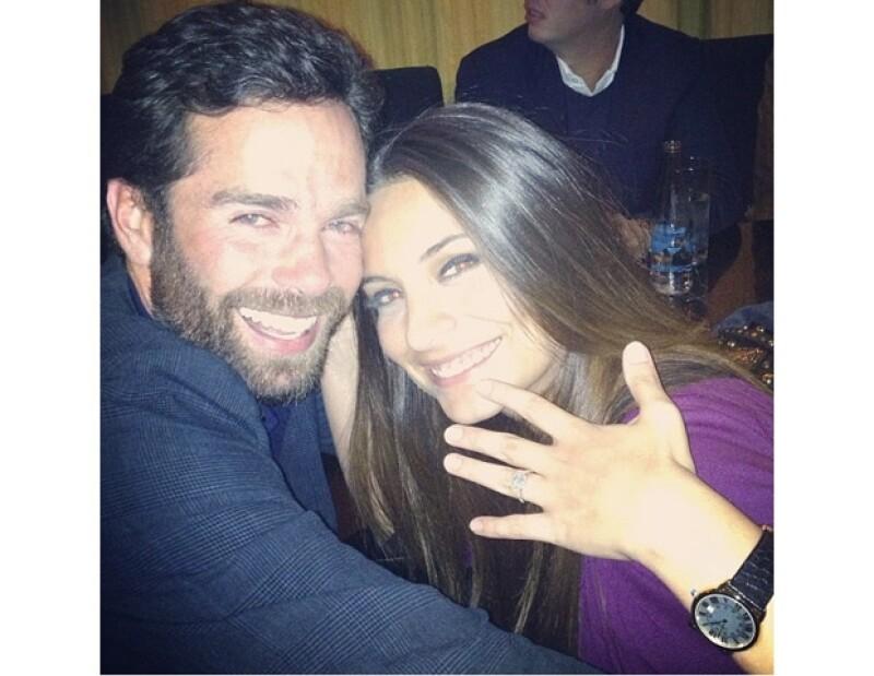 Ana Brenda y Alejandro Amaya se casaron en Las Vegas en abril pasado.
