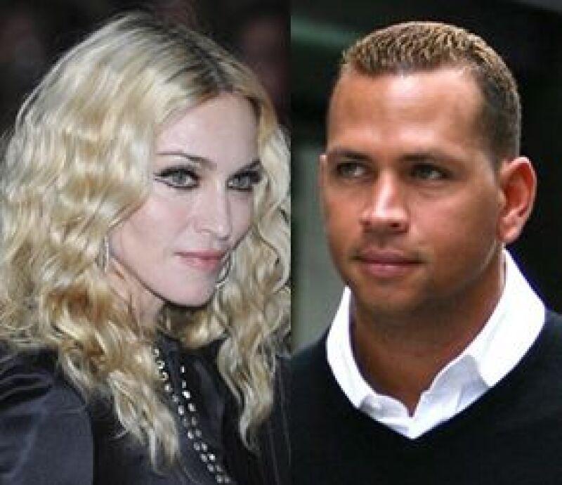 La Reina del Pop y el beisbolista fueron vistos en el restaurante Dos Caminos de Nueva York.