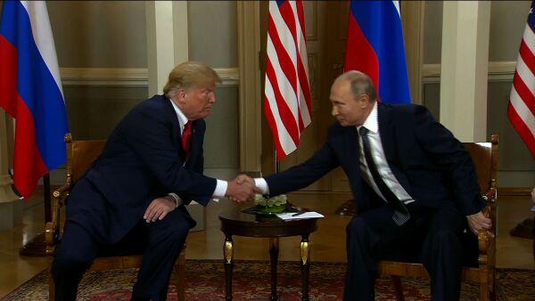 """""""Creo que tendremos una relación extraordinaria"""", dice Trump frente a Putin"""