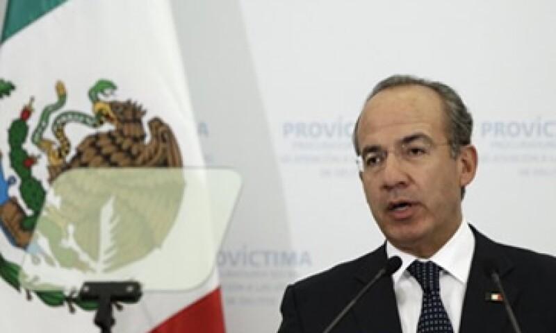 El programa Angelopoulos permitirá a Calderón convivir con futuros líderes globales, de acuerdo con Presidencia.  (Foto: Reuters)