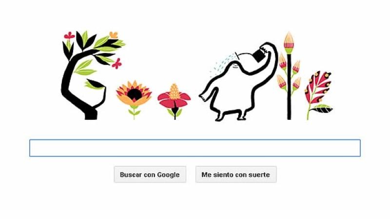 Google doodle primavera