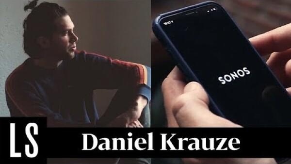 """Música para teclear"" según el escritor Daniel Krauze"