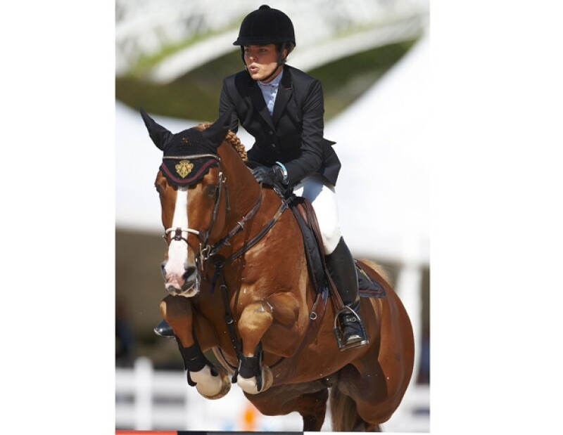 Carlota Casiraghi practica profesionalmente la equitación.