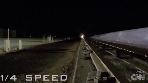 El vehículo supersónico que se mueve a 10,000 kilómetros por hora