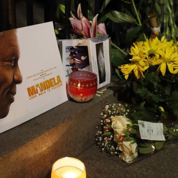 Londres Mandela tributo