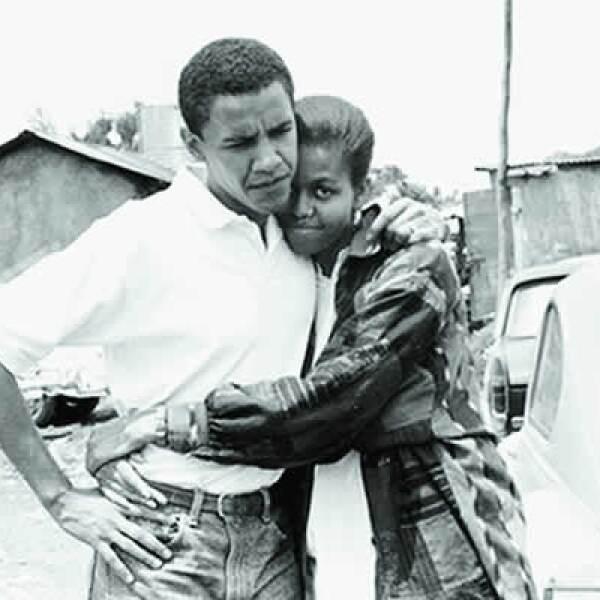 Michelle dirigió a Obama cuando éste entró como becario al bufete de abogados Sidley Austin, donde se conocieron en 1989.