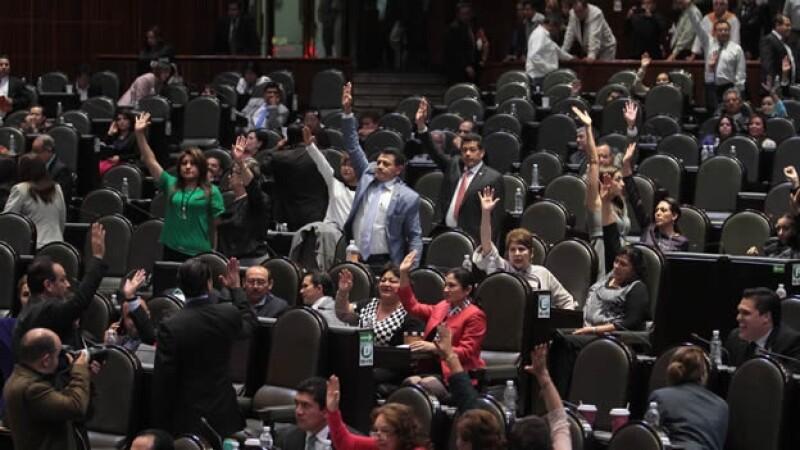 Diputados-votación