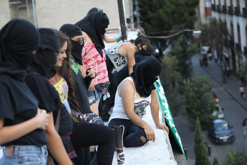 Ocupación feminista CNDH