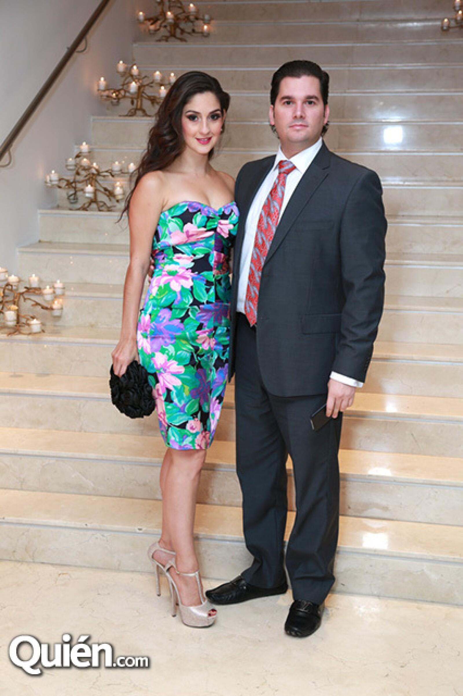 Adriana Sandoval y Mauricio Montes