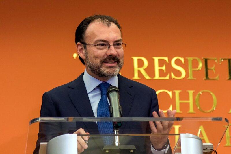 El Secretario de Hacienda, Luis Videgaray, dijo que la reforma fiscal debe combatir la informalidad. (Foto: Notimex)