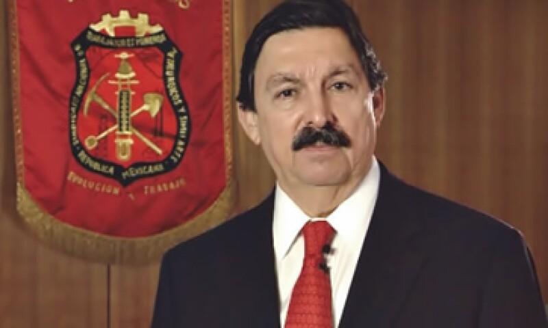Napoleón Gómez Urrutia, dirigente del sindicato minero, fue acusado del desvío de los 55 mdd que pagó Grupo México a su organización. (Foto: De sindicatominero.org)