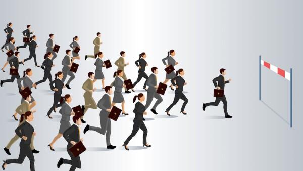Profesionistas - corredores - correr - carrera profesional