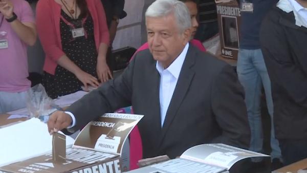 El resumen de la jornada electoral de Andrés Manuel López Obrador