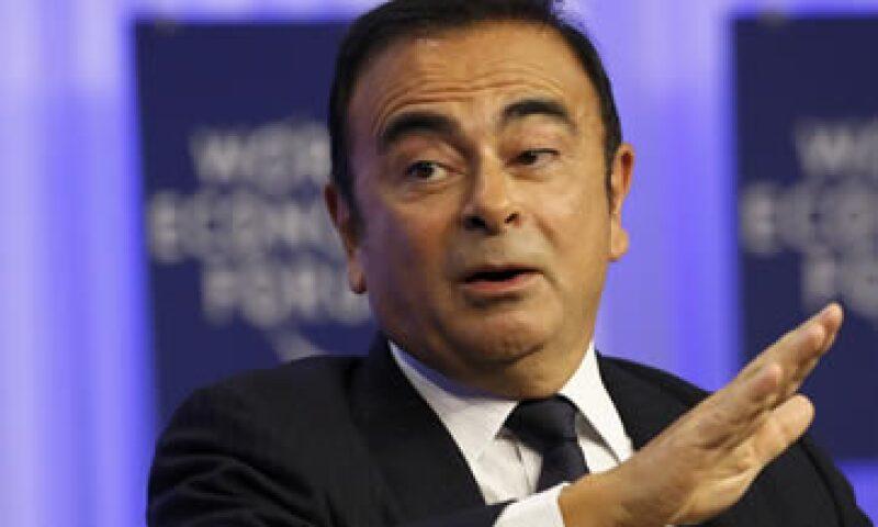 El presidente del grupo Nissan-Renault, Carlos Ghosn, participó este viernes en el Foro Económico Mundial. (Foto: Reuters)