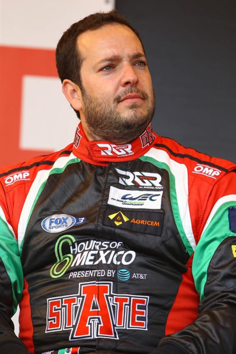 González participa como dueño y piloto del equipo RGR Sport by Morand en la clase LMP2 y participará en las 24 Horas de Le Mans de 2016