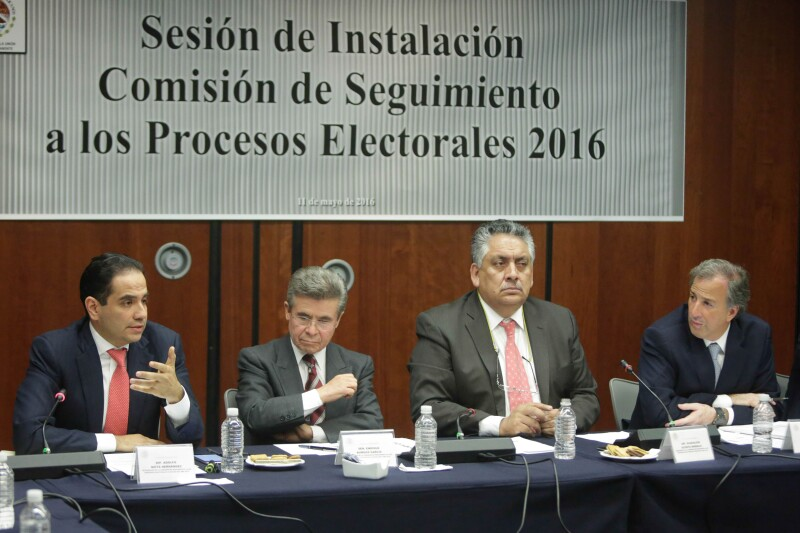 José Antonio Meade, quien dio detalles del blindaje electoral de programas sociales.