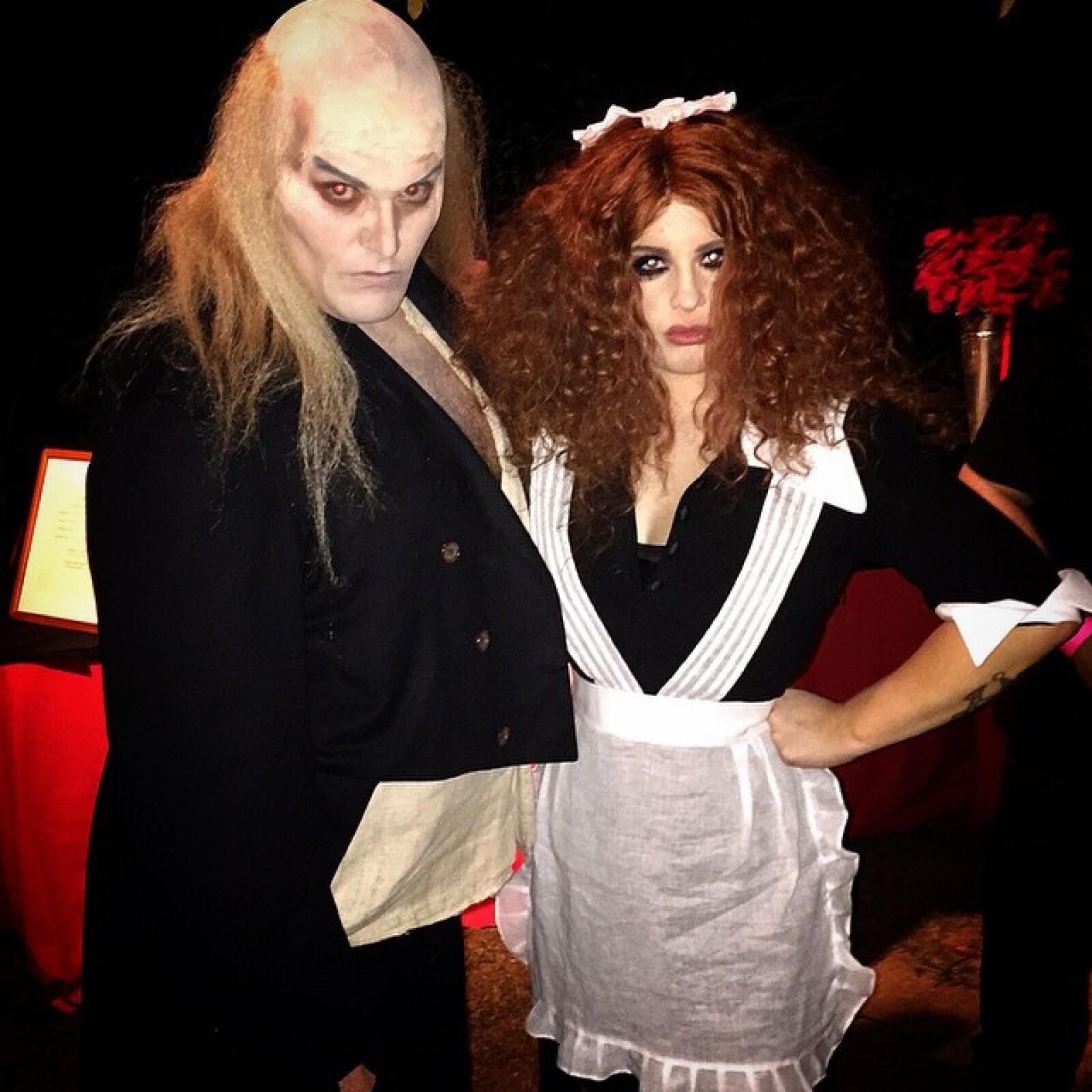 Hace unos días, la hija del cantante Ozzy Osbourne celebró su cumpleaños disfrazándose de una sirvienta llamada Magenta.