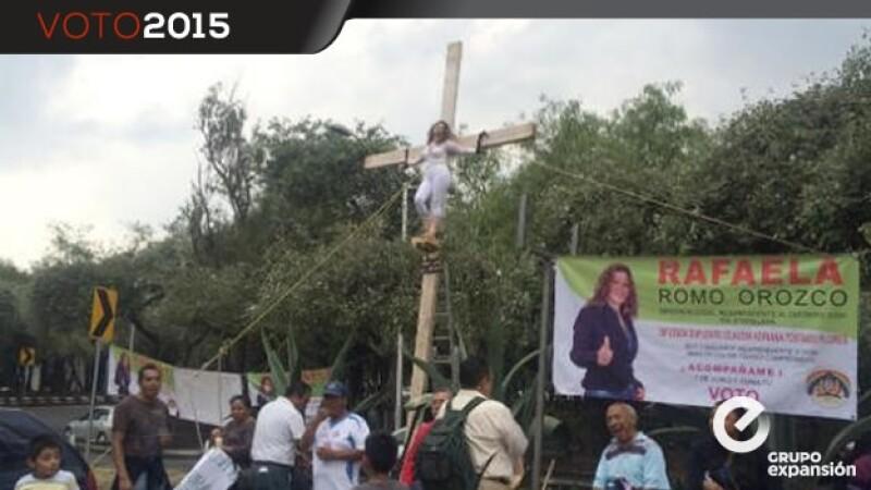 Iztapalapa crucificada