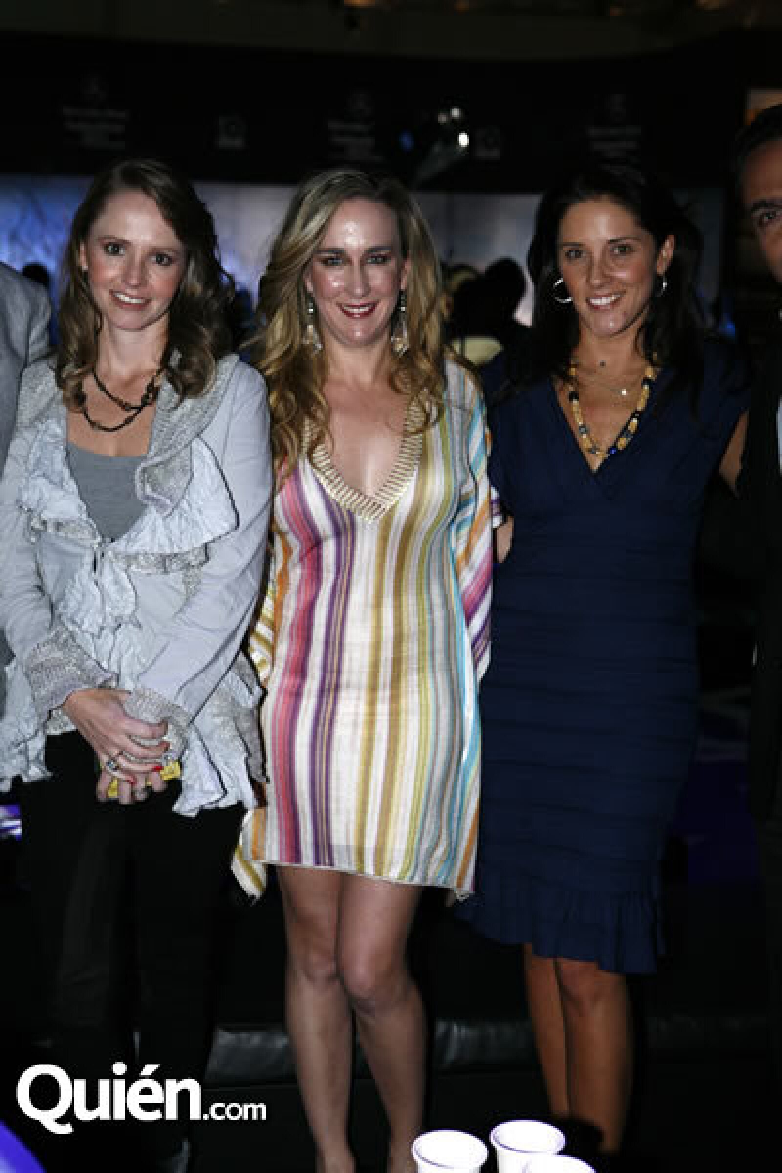 Denisse Casanova, Tania Odabachian y Marcela Pezet