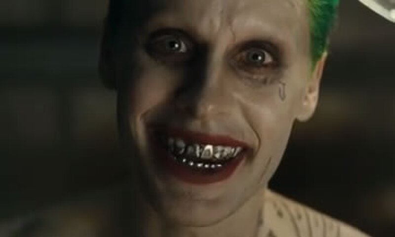 El actor Jared Leto en su papel como el Guasón (Foto: Youtube/Warner Bros. Pictures )