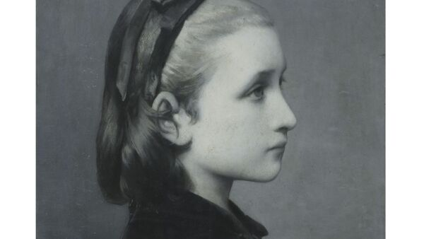 "Célestin Joseph Blanc, ""Head of a Girl"" (1867)"