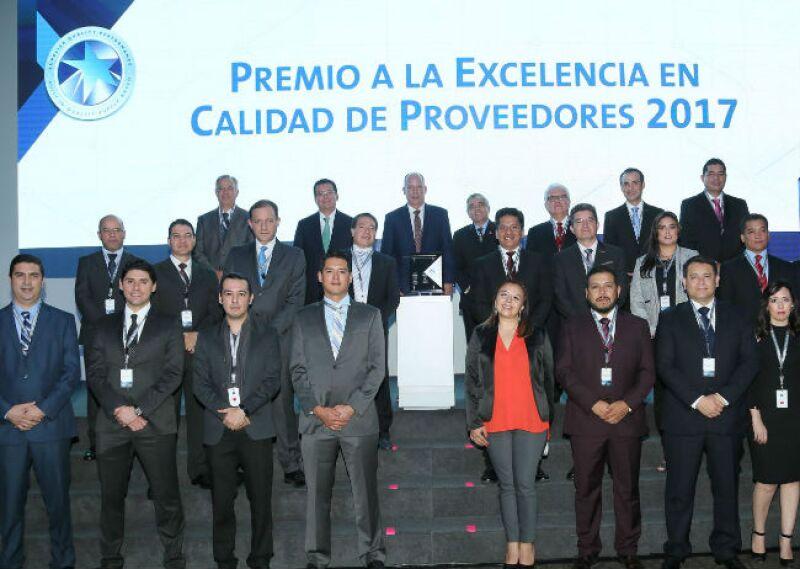 Premio a la Excelencia en Calidad de Proveedores 2017 de GM