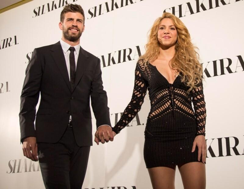 Tanto Shakira como Piqué, son estrellas internacionales.