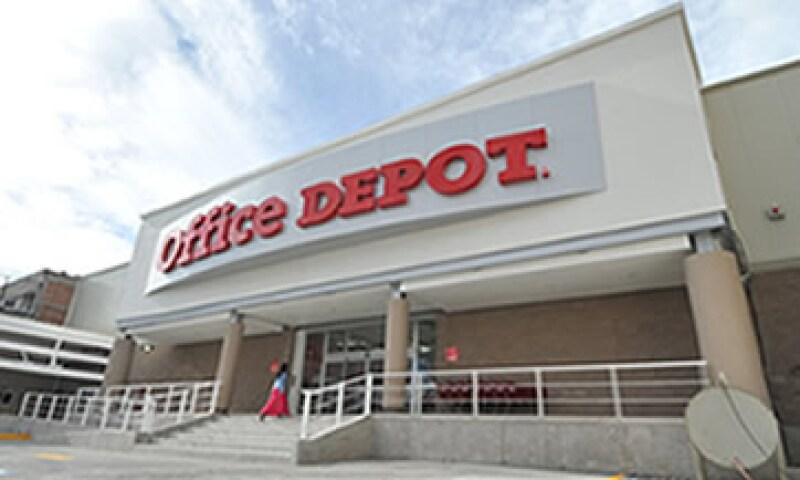 Tras su venta en México, la cadena de papelería  se llamará Office Depot de México. (Foto Cortesía Grupo Gigante)
