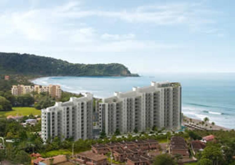 El resort cuenta con dos torres de 13 pisos. (Foto: Cortesía: Grupo Rica Costa.)