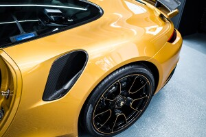 Porsche 911 Turbo S Exclusive Series rines