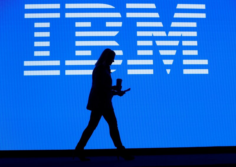 Ginni Rometty, IBM chairman, president and CEO, leaves the stage after her keynote address at the 2019 CES in Las Vegas