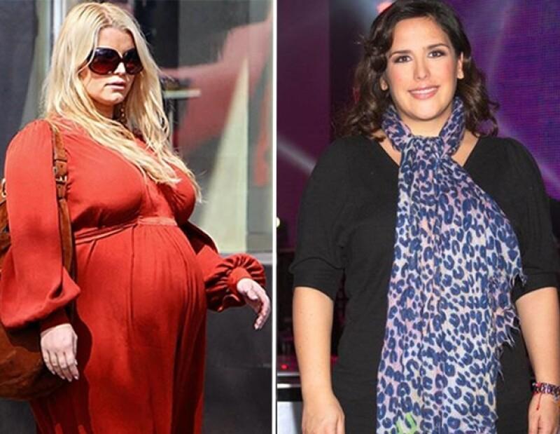 Estas dos actrices tienen muchas cosas en común ahora que se encuentran esperando a la cigüeña.