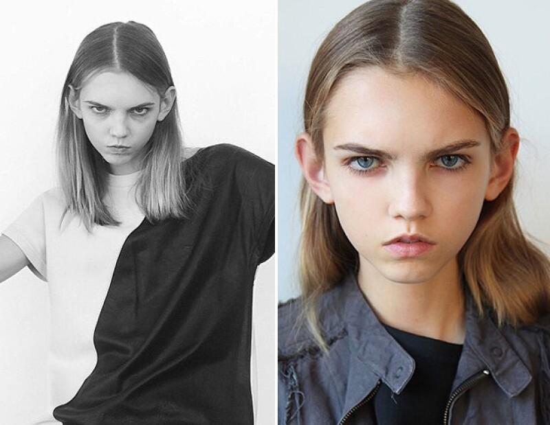 Conoce a Molly Bair, quien a menos de un año de ser descubierta ya ha modelado para grandes marcas como Chanel, Dior y Gucci.