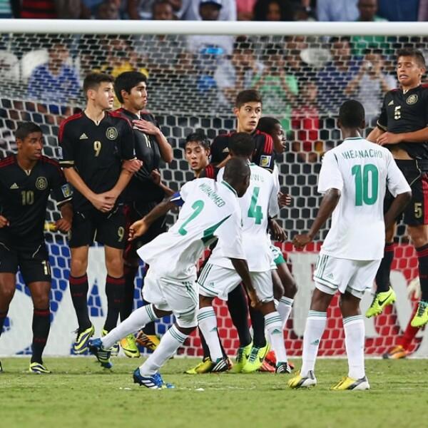 México vs. Nigeria 16