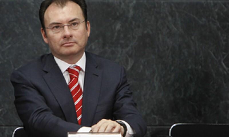 El secretario de Hacienda, Luis Videgaray, dijo que habrá una colaboración con dependencias estadounidenses y la ONU. (Foto: Cuartoscuro)