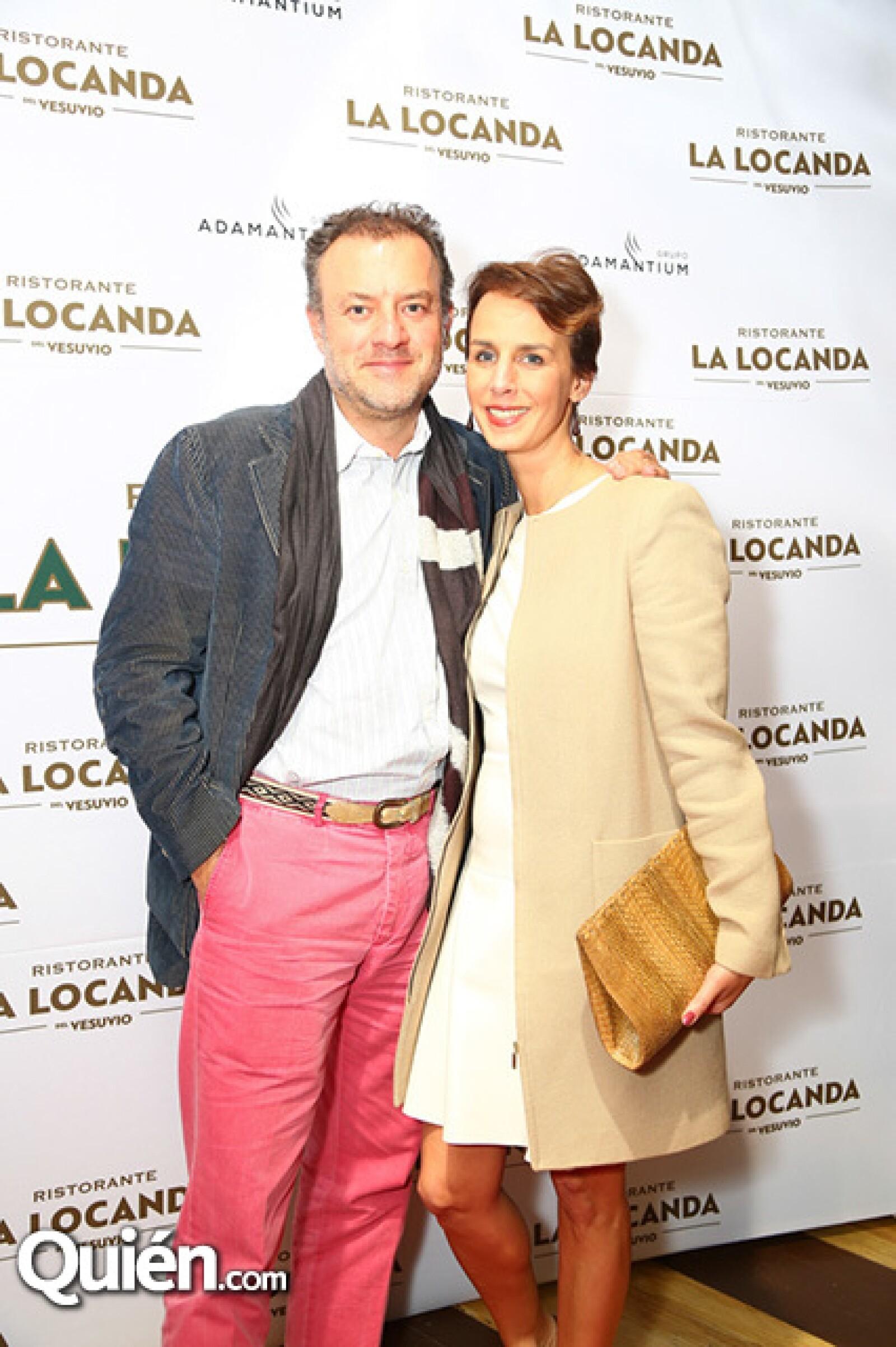 Alex y Aurelia Lemaire