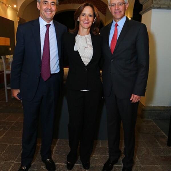 Jaime Martínez del Campo, Paulina y Luis Rebollar