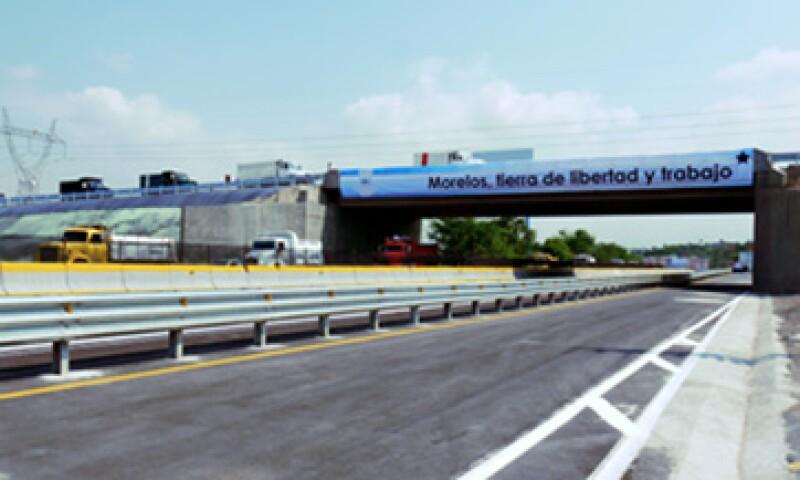 El nuevo distribuidor vial de Morelos contó con una inversión de 25 mdp (Foto: Cortesía Ara)