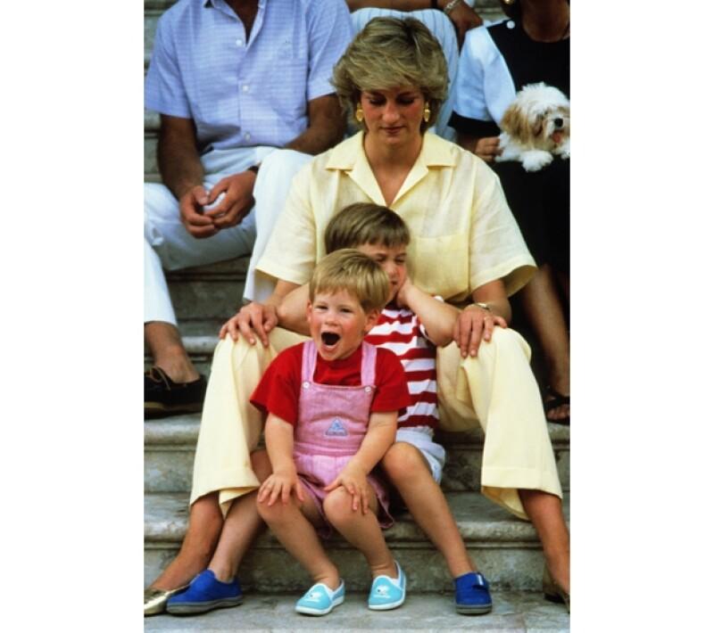 Su hermano, el príncipe Guillermo fue un gran apoyo para él cuando no era capaz de entender la separación de Carlos y Diana de Gales.