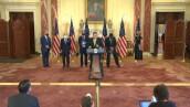 """Estados Unidos anuncia sanciones """"de la ONU"""" contra Irán y Maduro"""