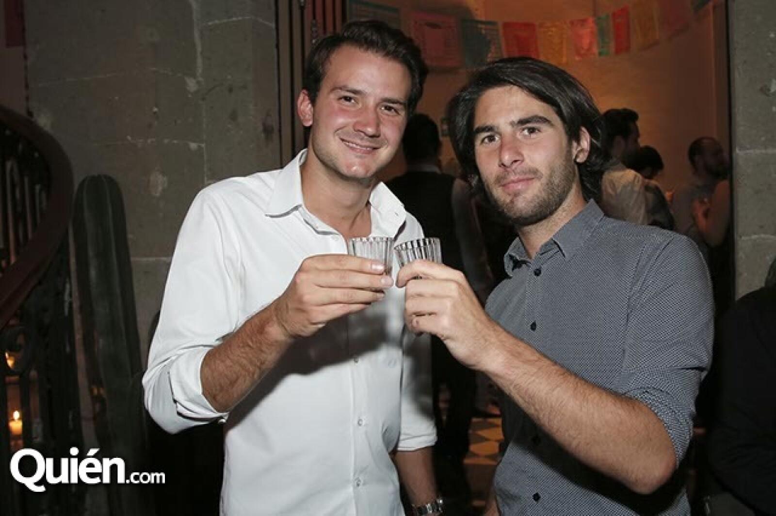 Paul Collange y Mateo Dahirel