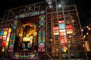 """El proyecto seleccionado para la ofrenda monumental es """"Altar de altares"""", de Vladimir Maislin Topete."""