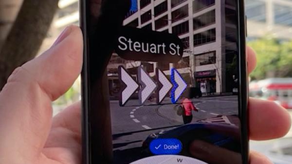 Google Maps quiere evitar que te pierdas con la realidad aumentada