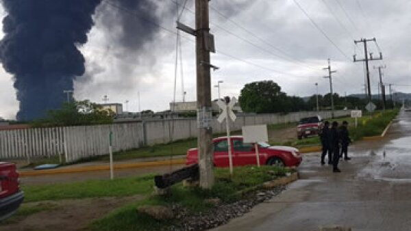 Incendio En salina Cruz