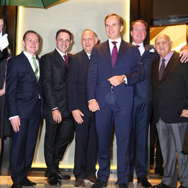 Gonzalo Álvarez,Sergio Berger,Ari Berger,Jean Frédéric Dufour,Benoit Falleti y Maurice Berger
