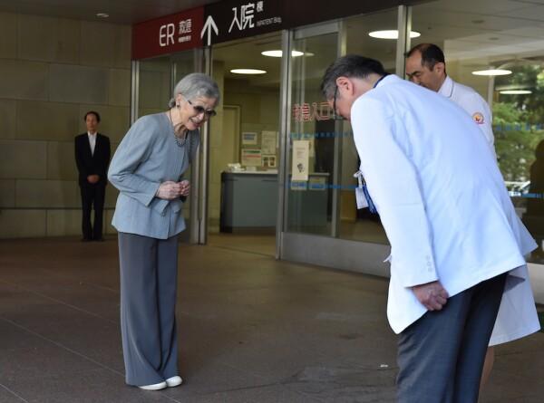 JAPAN-ROYALS-HEALTH-EMPRESS